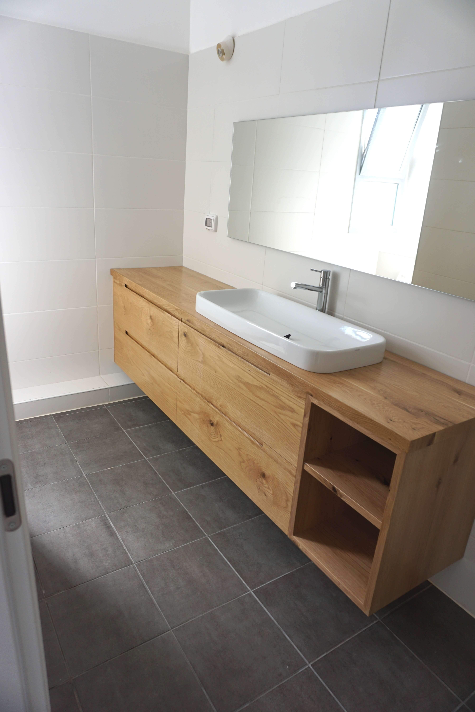ארונות אמבטיה מעץ