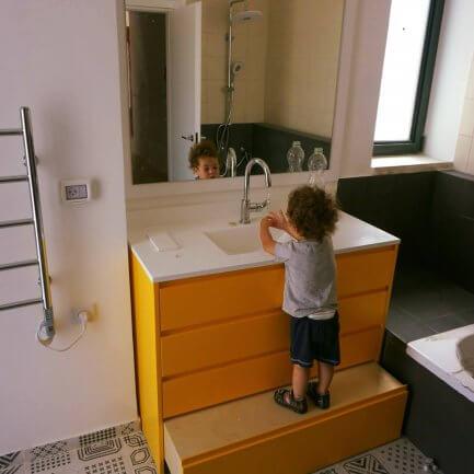 ארונות אמבטיה מותאמים אישית