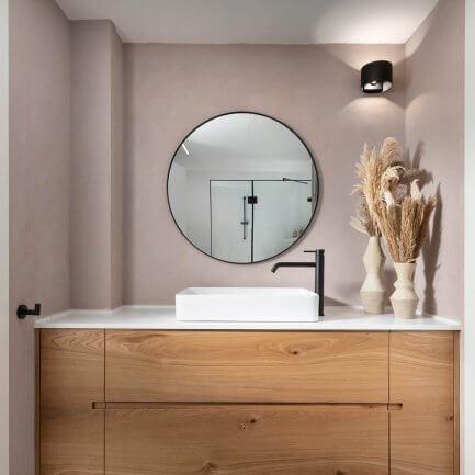 ארונות אמבטיה מעוצבים מעץ