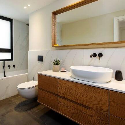 מרסלו אומנות הריהוט - ארונות אמבטיה בהתאמה אישית