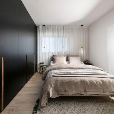 ארונות מעוצבים לחדר שינה